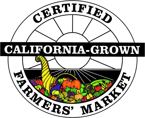 Seal of Certification for our certified vendors at the Pasadena Certified Farmers Markets.