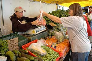Your family will truly appreciate the great flavor when you buy fresh, nutritious fruits and vegetables direct from the farmer at the Pasadena Certified Farmers' Market in Pasadena, California