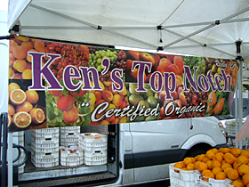top Notch at the Pasadena Farmers' Market in Victory Park